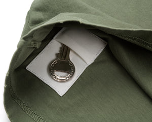 Moth Eaten T-Shirt - Army - Key Pocket