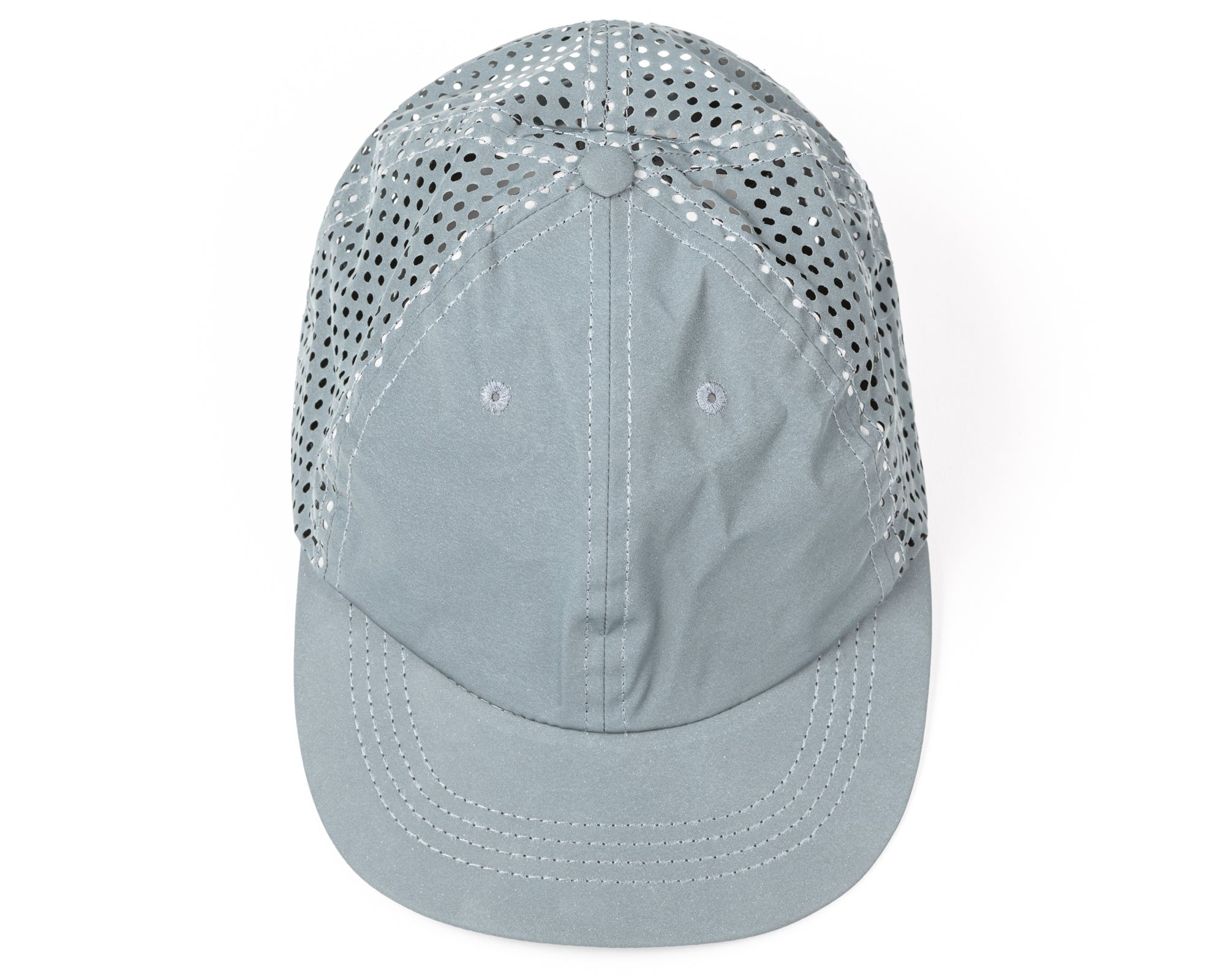 097146126 Perforated Reflective Running Cap