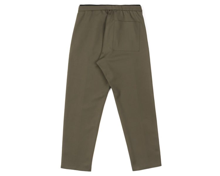 Spacer Post-Run Pant - Army - Back