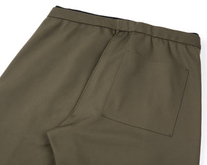 Spacer Post-Run Pant - Army - Back Side