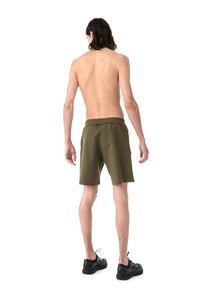 Spacer Shorts - Army - Model Back