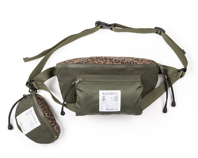 Belt Bag - Army Patchwork - Front