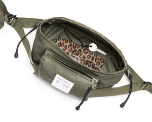 Belt Bag - Army Patchwork - Open Top