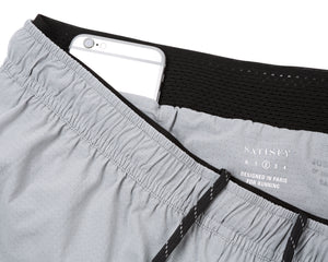 "Justice™ Short Distance 2.5"" Shorts - AIR-FROST - Phone-pocket"