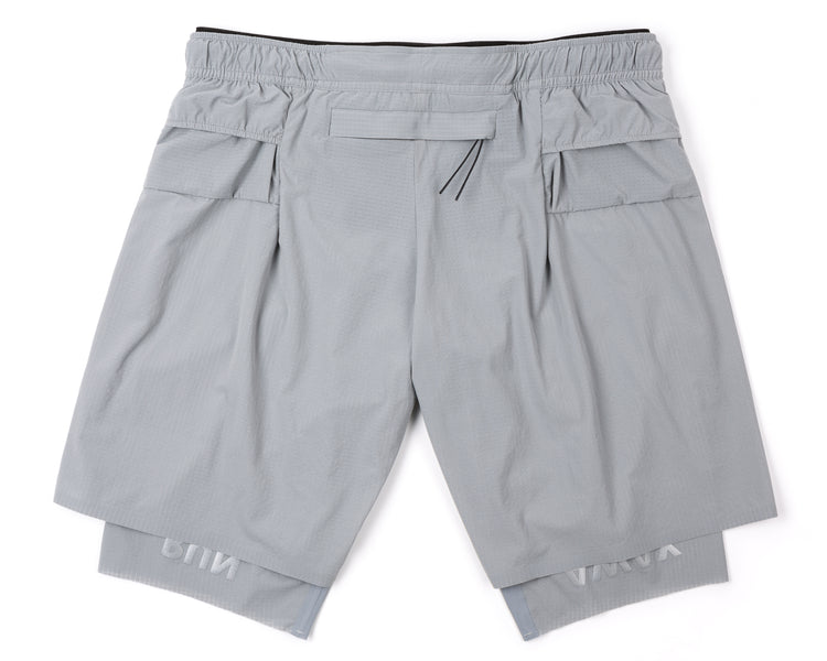 "Justice™ Trail Long Distance 10"" Shorts - AIR-FROST - Back"