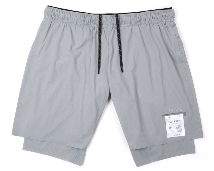 "Justice™ Trail Long Distance 10"" Shorts - AIR-FROST - Front"