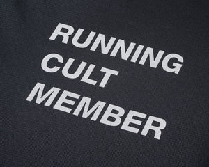 Light T-Shirt - Running Cult Member - Black - Detail