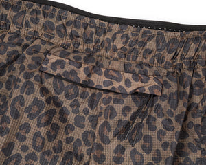 "Short Distance 8"" Shorts - LEOPARD - Detail-1"