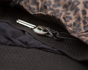 "Short Distance 8"" Shorts - LEOPARD - Key-hook"