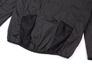 Rip Running Jacket - BLACK - Back-pocket