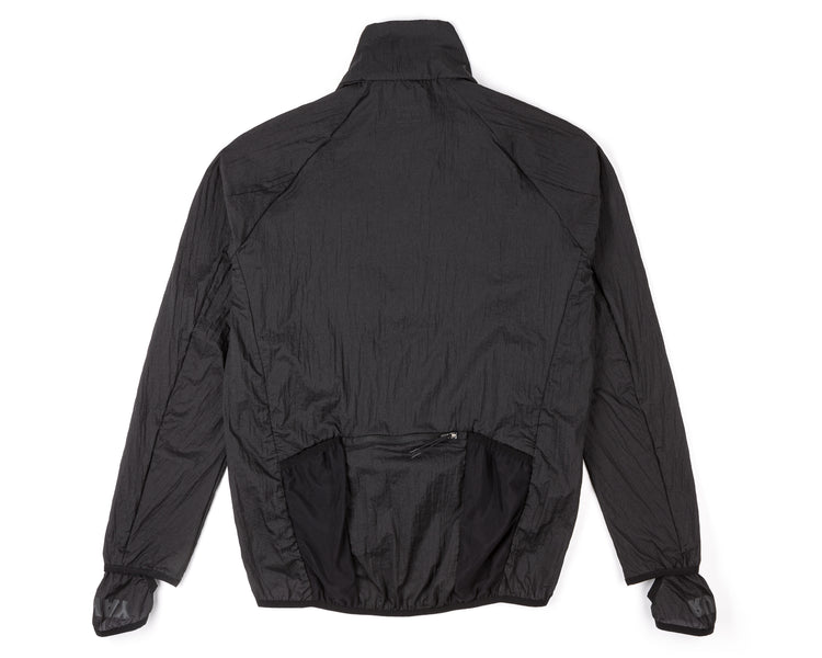 Rip Running Jacket - BLACK - Back