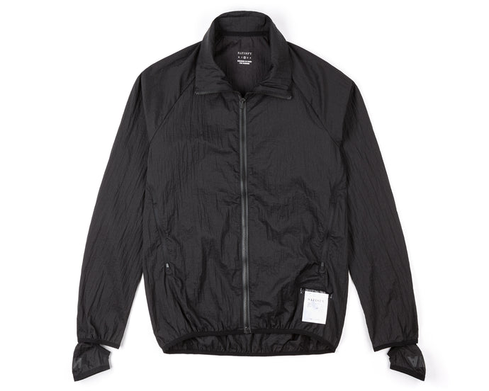 Rip Running Jacket - BLACK - Front