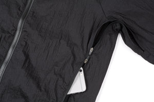 Rip Running Jacket - BLACK - Phone-pocket