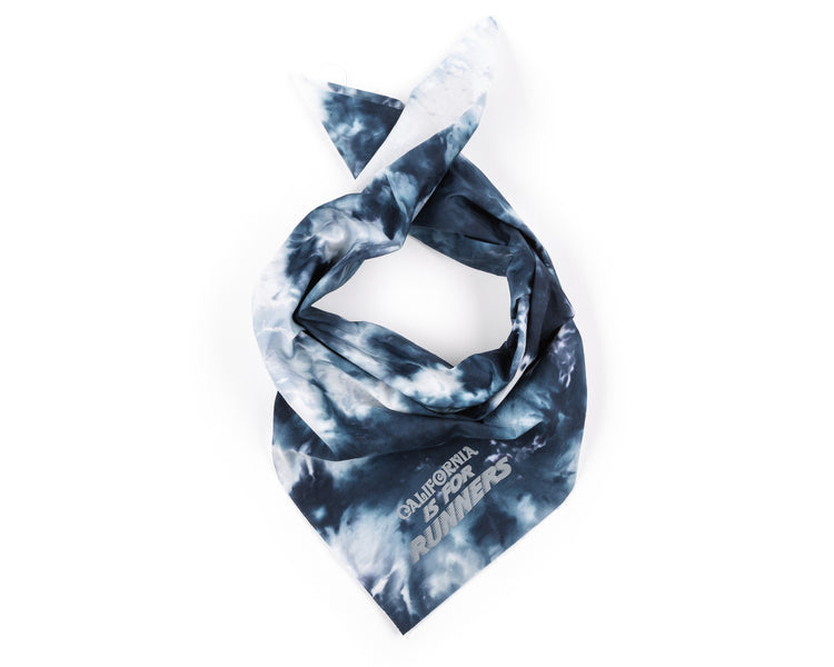 Bandana - BATIK BLUE - Folded
