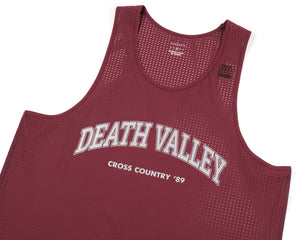 Race Singlet - BURGUNDY - Frontside
