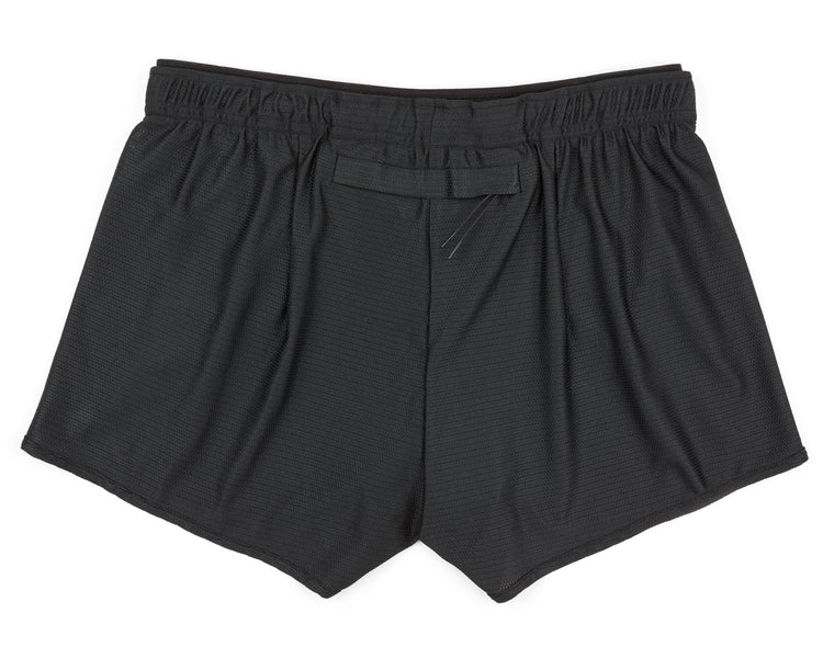 "Short Distance 2.5"" Shorts - BLACK - Back"