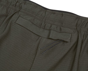 "Short Distance 2.5"" Shorts - OLIVE - Back-pocket"