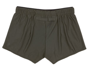 "Short Distance 2.5"" Shorts - OLIVE - Back"