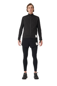 Justice Running Jacket - Black - Model front