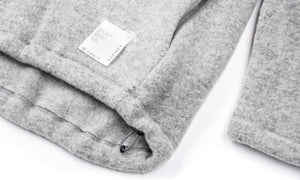 Air-Wool Jacket - Heather Grey - Label Pocket