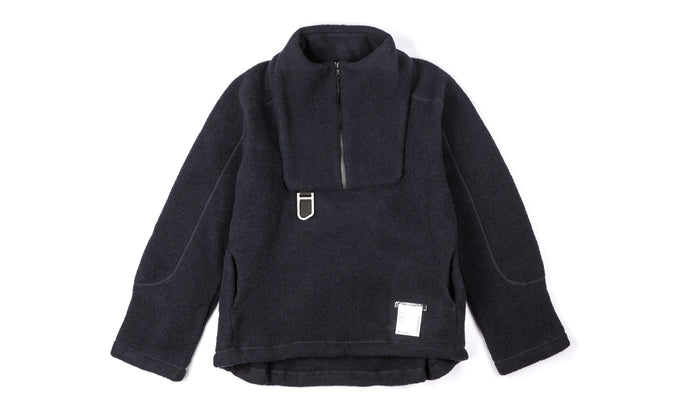 Air-Wool Jacket - Midnight - Front