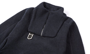 Air-Wool Jacket - Midnight - Front Side