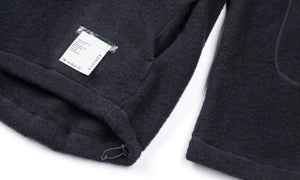 Air-Wool Jacket - Midnight - Label and Pocket