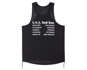 Race Singlet - BLACK - Back