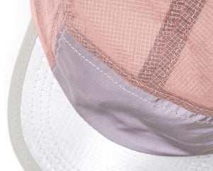 Trail Running Cap - CORAL PINK - Detail