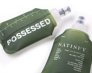WATER FLASK 250ML X 2PCS - Army Green - Detail