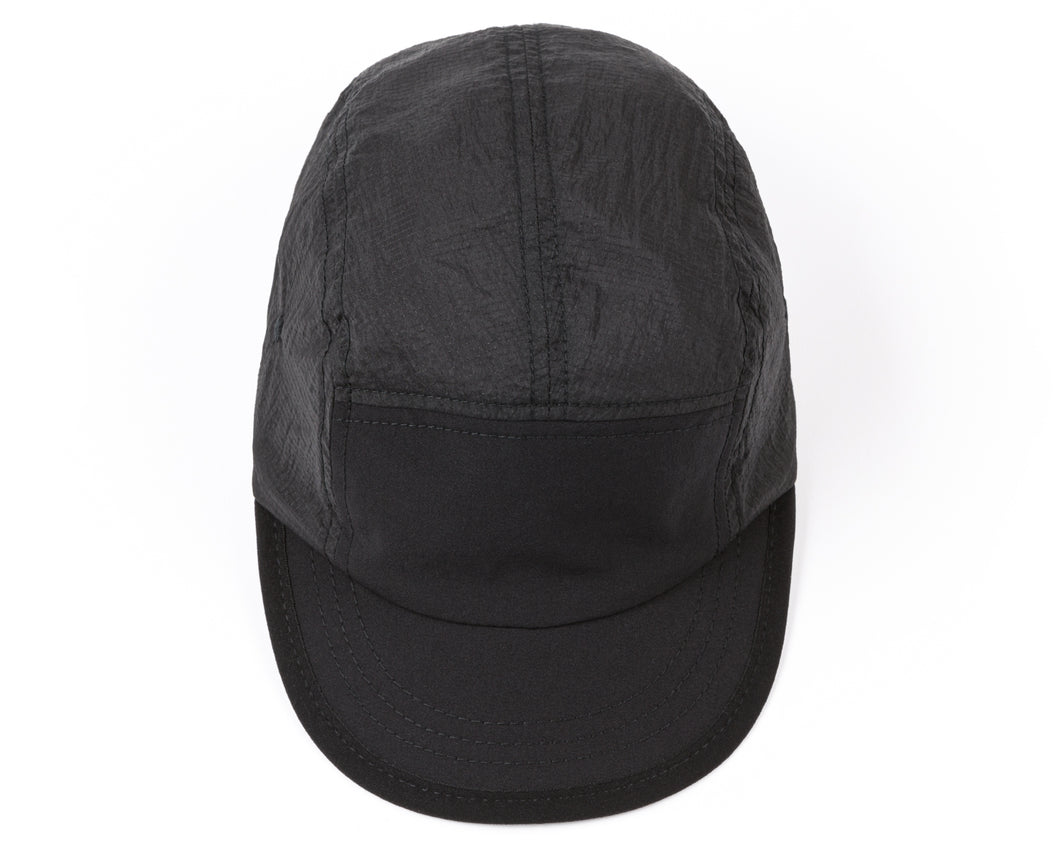 Trail Running Cap - BLACK - Front