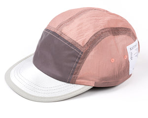 Trail Running Cap - CORAL PINK - Frontsize
