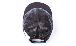 Perforated Running Cap Silk - Moon - Back