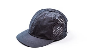 Perforated Running Cap Silk - Moon - Front Side