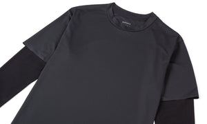 Justice Long Tee - Black - Side