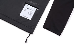 Justice Long Tee - Black - Label