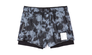 "Long Distance 3"" Shorts - Tie-Dye - Front"