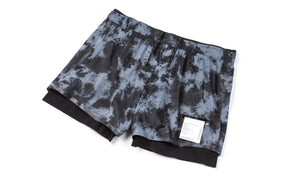 "Long Distance 3"" Shorts - Tie-Dye - Front Side"