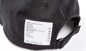 Dynamic Running Cap - Black - Label