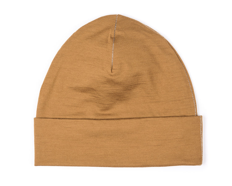 Cloud Merino 160 Running Hat - Amber - Back