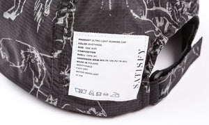 Ultra-Light Running Cap - Mustang - Label