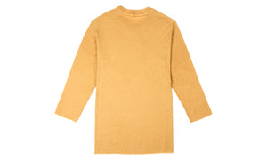 Cloud Merino 100 3/4 Sleeve Tee - Sunflower - Back