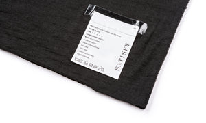 Cloud Merino 100 Tee Shirt - Black - Label