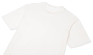 Cloud Merino 100 Tee Shirt - Off White - Front Side