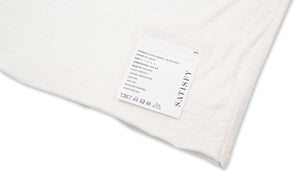 Cloud Merino 100 Tee Shirt - Off White - Label