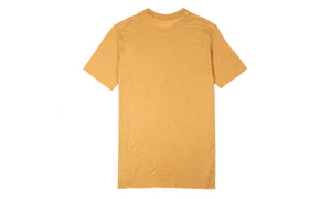 Cloud Merino 100 Tee Shirt - Sunflower - Back
