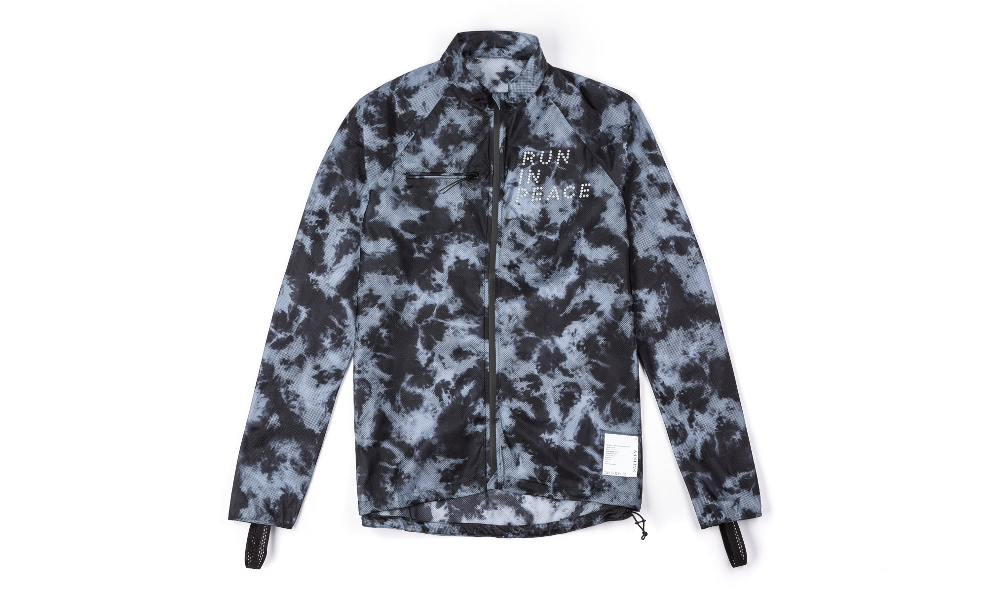 Ultra-Light Running Jacket - Tie-Dye - Front