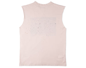 Willie Moth Eaten Muscle Tee - Back