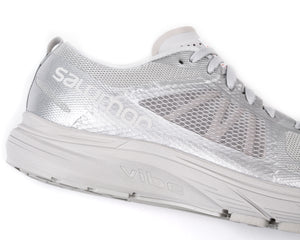 Salomon / Satisfy SONIC RA MAX - Silver - Detail Side 2