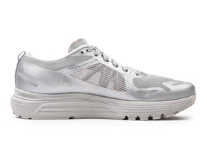 Salomon / Satisfy SONIC RA MAX - Silver - Side 1
